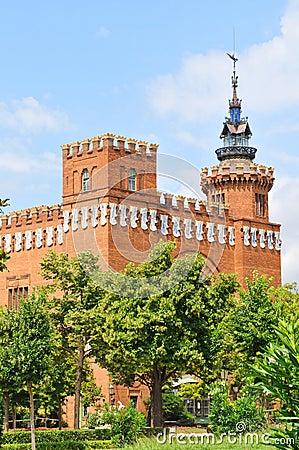 Castell dels Tres Dragons in Barcelona, Spain