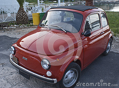 Fiat 500 car Editorial Stock Image