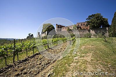 Castello di brolio, tuscany, italy