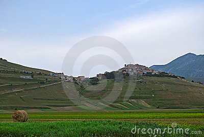 Castelluccio Of Norcia Royalty Free Stock Photography - Image: 6827547