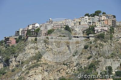 Castelmola, Village on top of a Rock