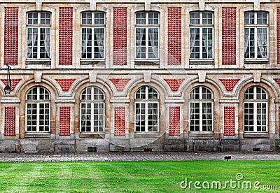 Castelo de Fontainebleau Imagem Editorial