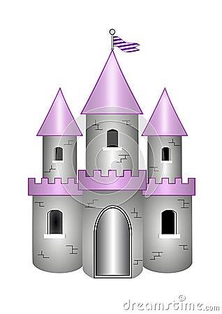 Castelo dos desenhos animados