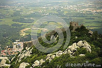 Castelo dos Mouros in Sintra, (Portugal)