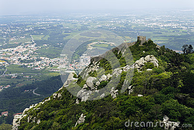 Castelo dos Mouros in Sintra, (Portugal)