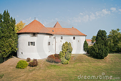 Castelo histórico velho em Varazdin