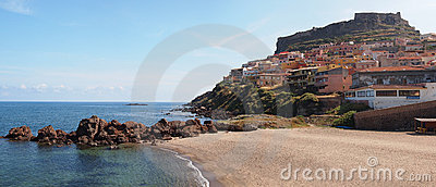 Castelsardo, built upon a cliff