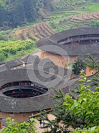 Castillo chino de la tierra