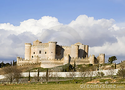 Castillo de Belmonte Landscape