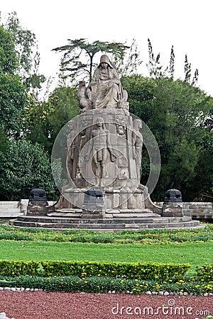 Castillo de Chapultepec Garden