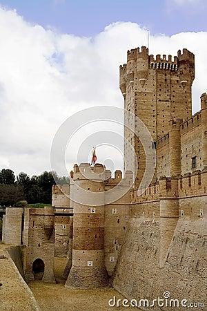 Castillo de La Mota Entrance
