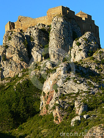 Castillo de Loarre, Huesca (Spain )