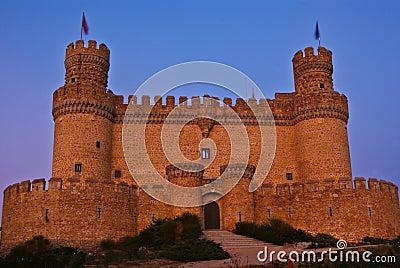 Castillo de Mendoza.