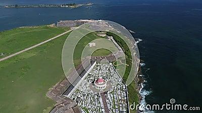 Castillo de SAN Cristobal στο νησί του Πουέρτο Ρίκο φιλμ μικρού μήκους