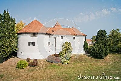 Castillo histórico viejo en Varazdin