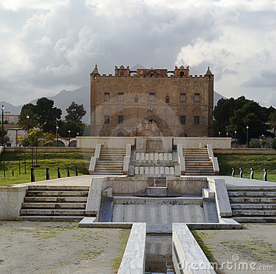 Castillo Palermo Sicilia de Zisa