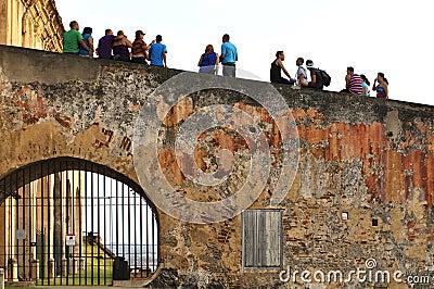 Castillo of San Juan Editorial Stock Photo