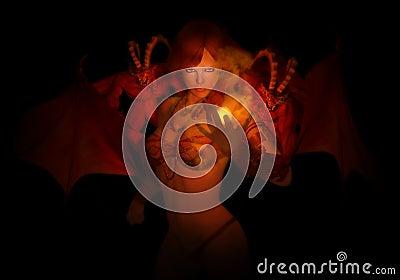 Casting spell