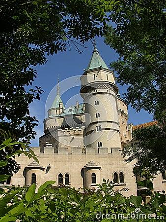 Free Castle Royalty Free Stock Photos - 486048