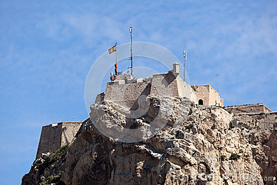 Castle in Alicante, Spain