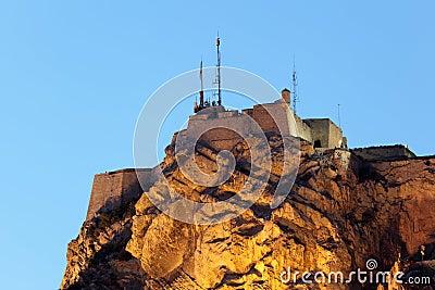Castle in Alicante, Spain