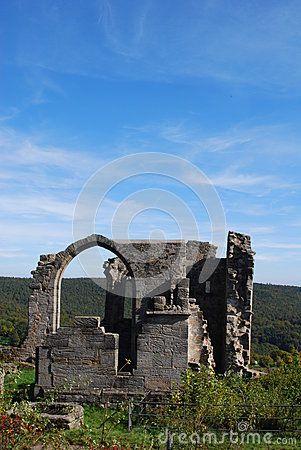 Castle altenstein ruin