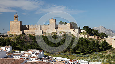 Castle in Antequera, Spain