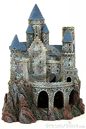 Castle Aquarium Ornament