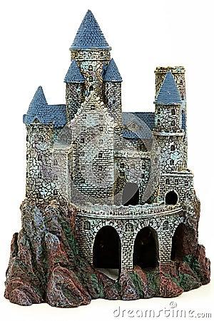 Castle Aquarium Ornament