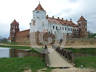 Castle (backside) in Mir-town
