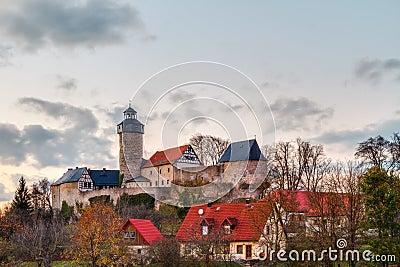 Castle in the Bavarian Village Sanspareil