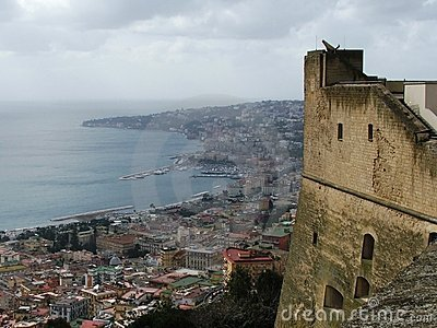 The Castle and the Bay of Naples