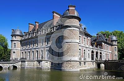 Castle Beleoil in Belgium