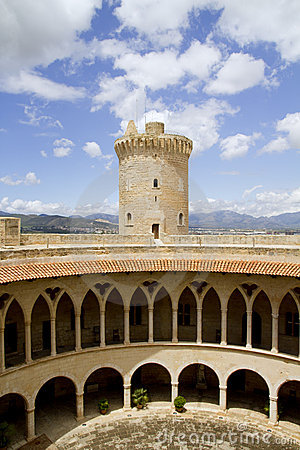 Free Castle Bellver In Majorca Royalty Free Stock Photography - 20322437