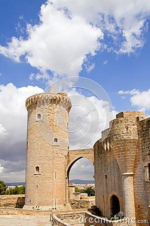 Free Castle Bellver In Majorca At Palma Of Mallorca Stock Image - 20779321