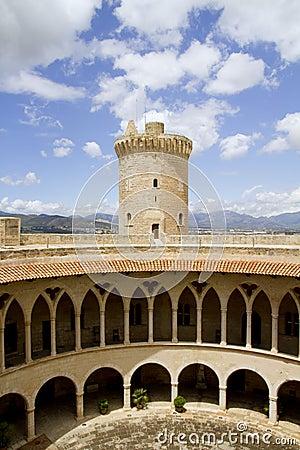 Castle Bellver in Majorca