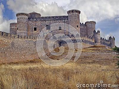 Castle of Belmonte, Cuenca, Spain