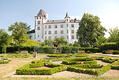 Castle Berg- Renaissance palace -Saarland-Germany