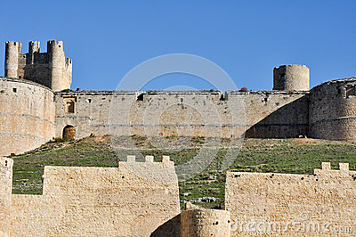 Castle of Berlanga de Duero, Castile and Leon (Spain)