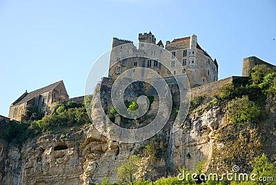 The castle of Beynac
