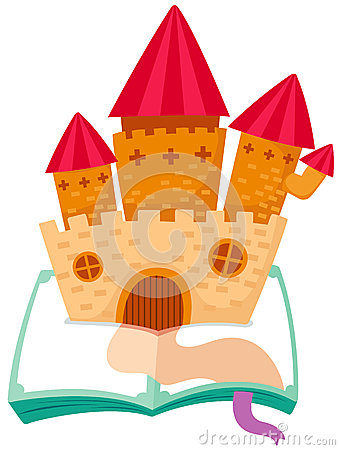 Castle on the book