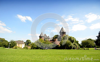 Castle - Burg Linn Editorial Stock Image