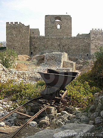 Castle in Byblos, Lebanon