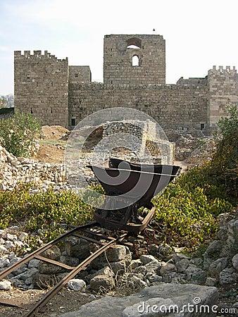 Castle in Byblos, Lebanon