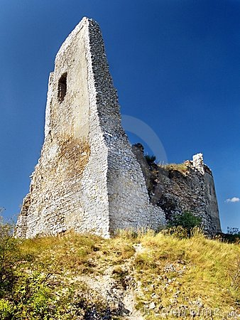 The Castle of Cachtice - Ruined Donjon