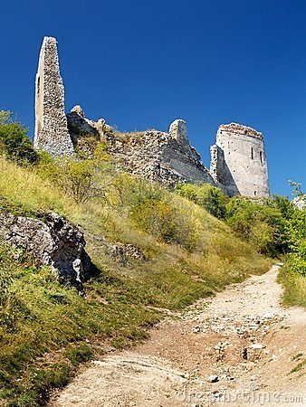The Castle of Cachtice - Ruined fortification