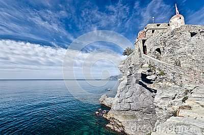 Castle of Camogli, Italy