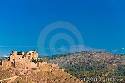 Castle of Cardona in Spain