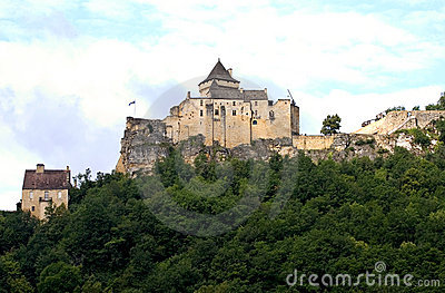 Castle of Castelnaud, France