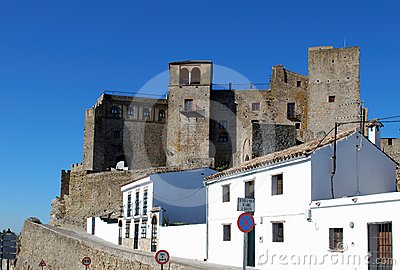 Castle, Castillo de Castellar, Spain.